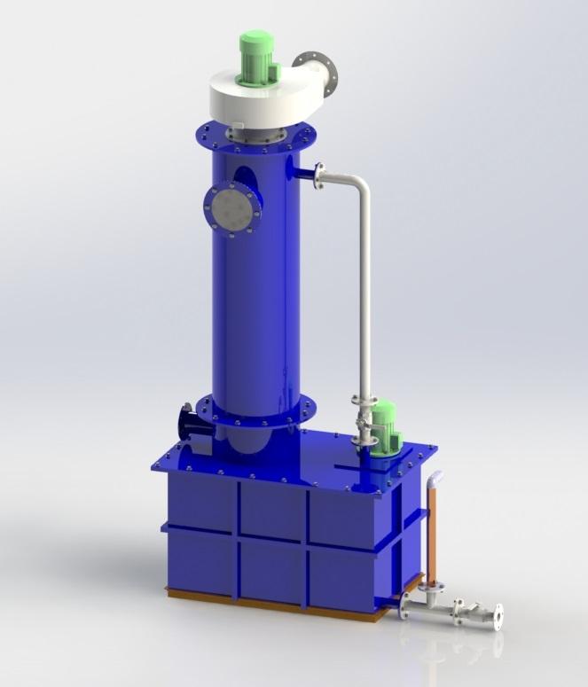 Ammonia scrubber
