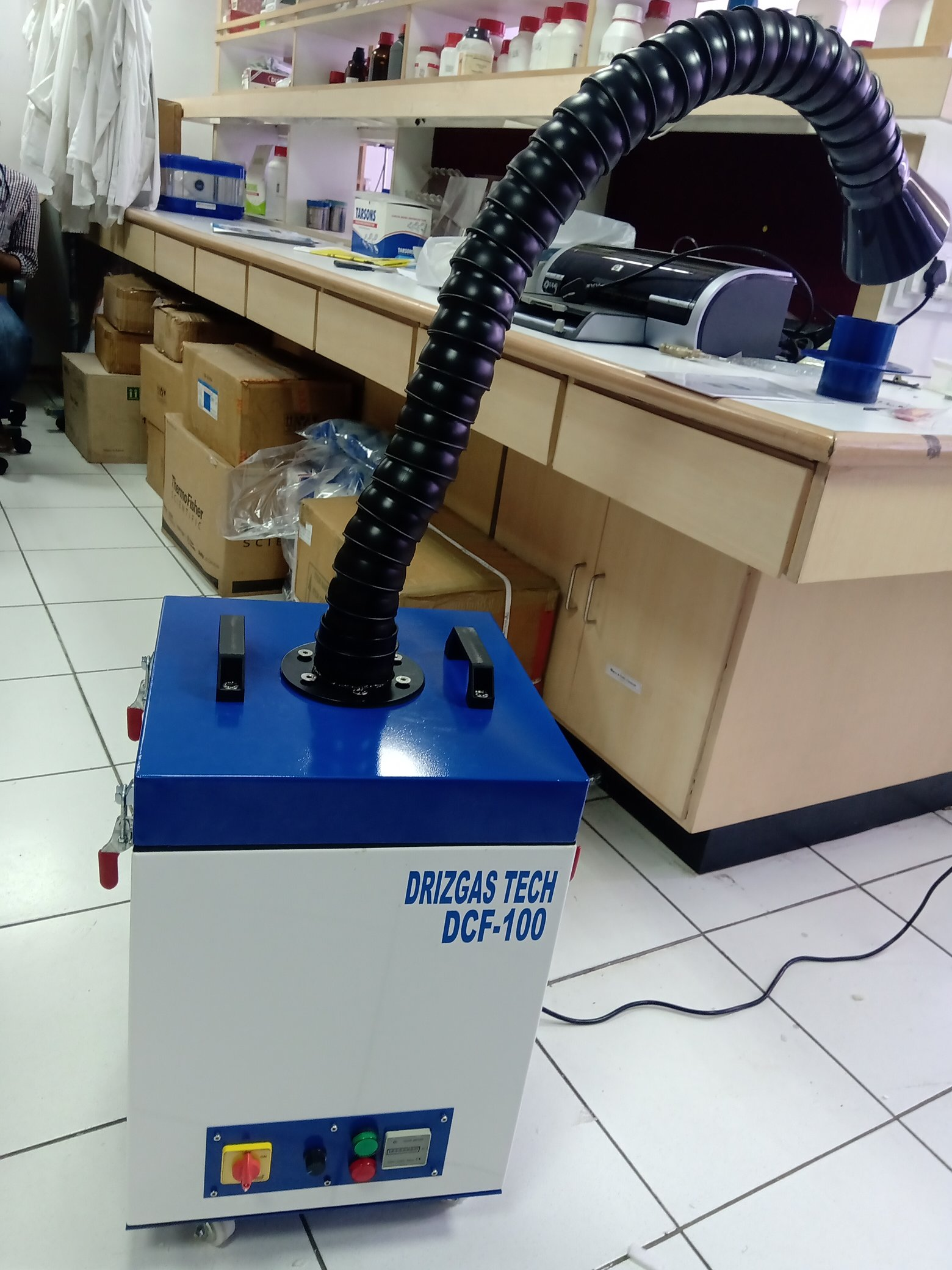 portable fume extractor in india